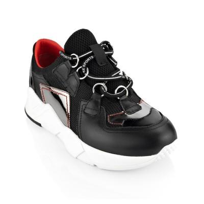 Sneakersy CAPONE nero