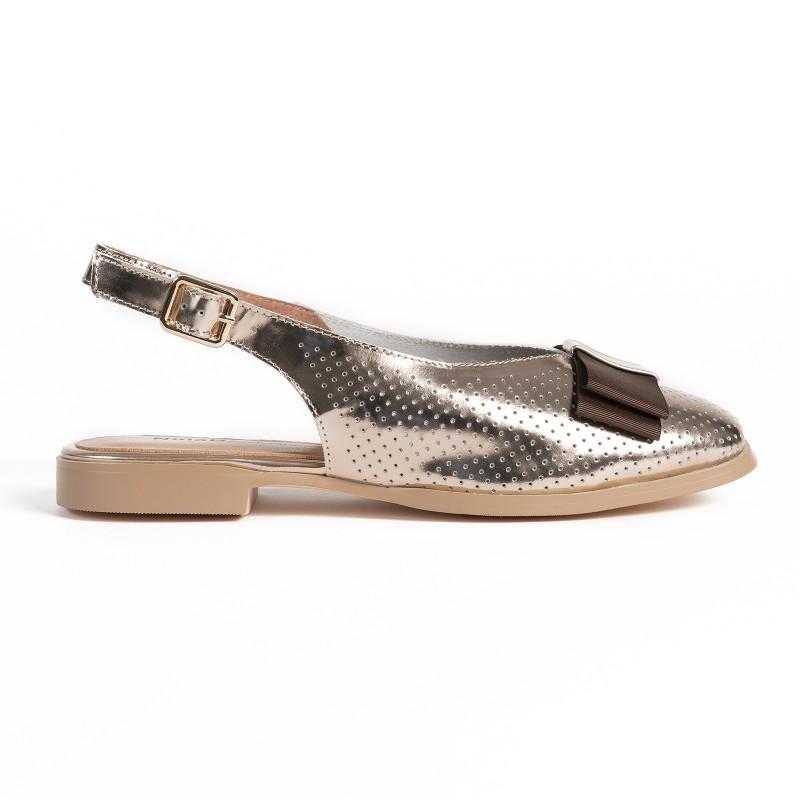 Sandałki CALVA gold