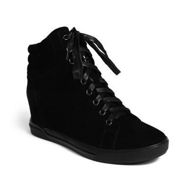 Sneakersy ADEMARA suede black