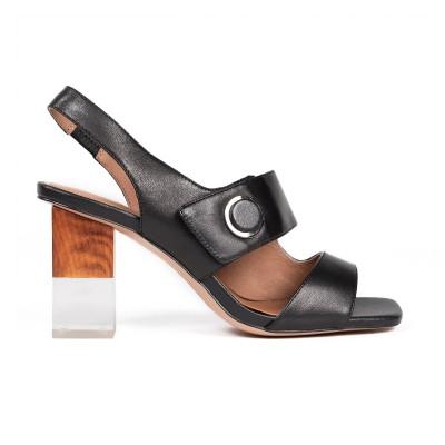 Sandałki BELLA black