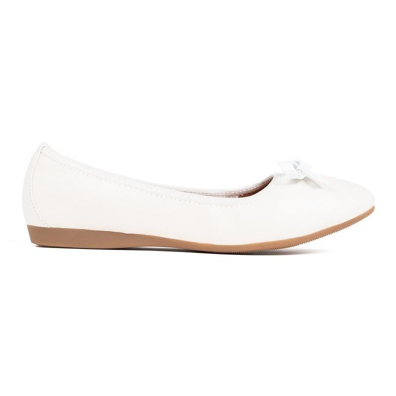 Baletki LAURE white