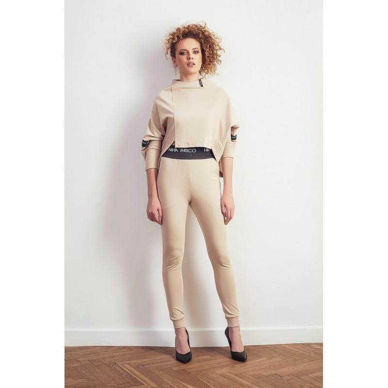 Spodnie SLIM beżowe