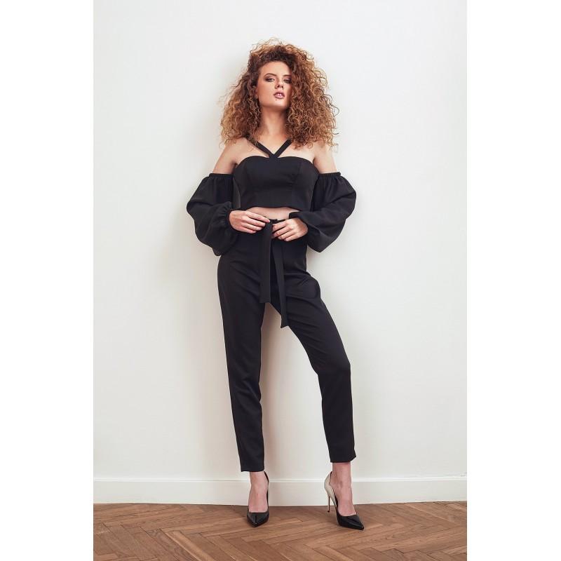 Spodnie ESPANITA czarne