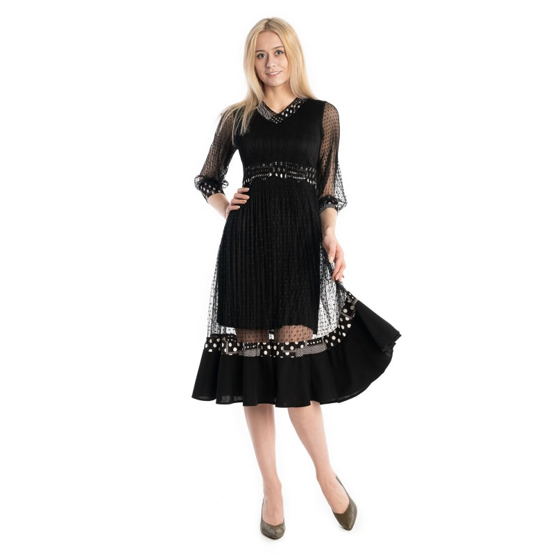Sukienka VALENTINA czarna