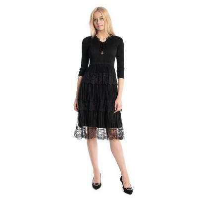 Sukienka NEGROS czarna
