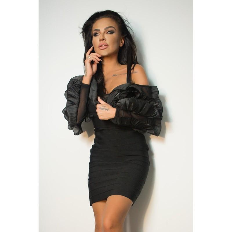Sukienka BALZA czarna