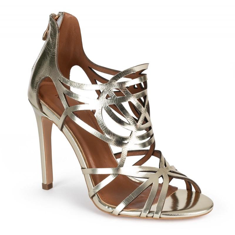 Sandałki CAMELIA gold