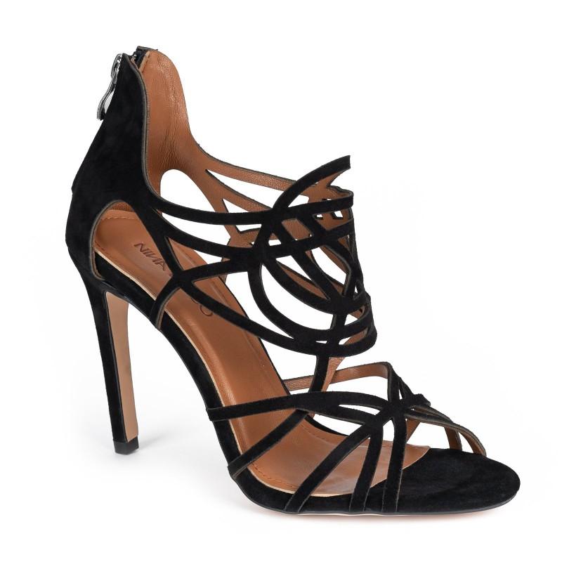 Sandałki CAMELIA czarne