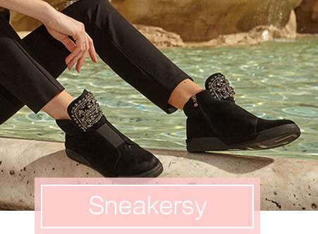 Sneakersy Nina Basco